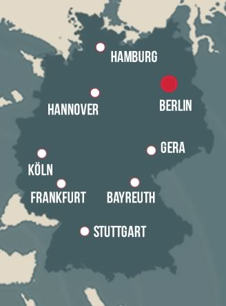 Locations Germany